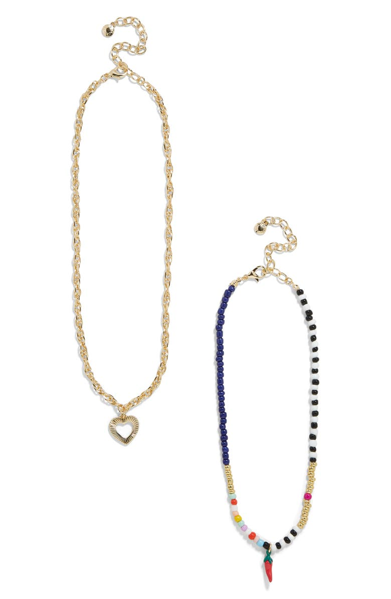 Nicoleta Set Of 2 Pendant Necklaces by Baublebar