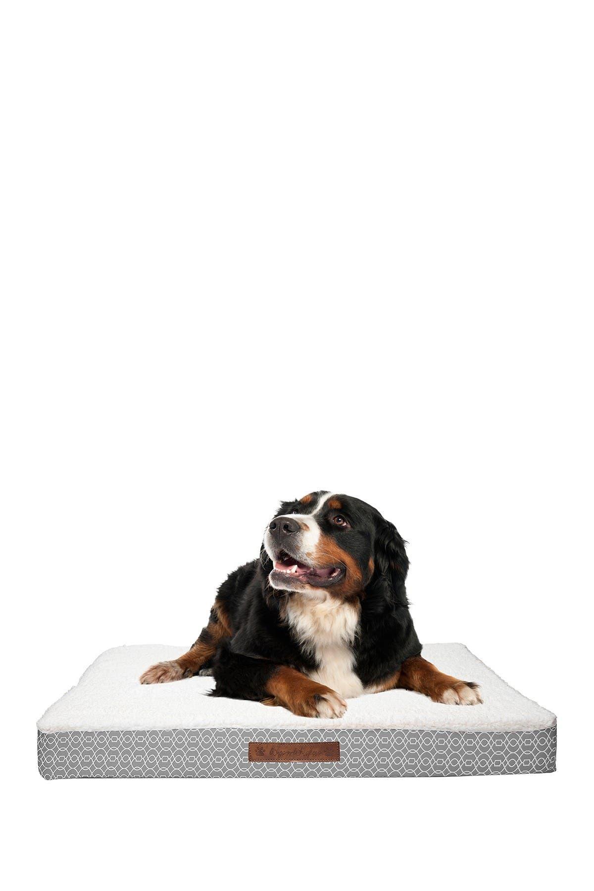 Image of Duck River Textile Bogart Gate Large Orthopedic Memory Foam Pet Bed