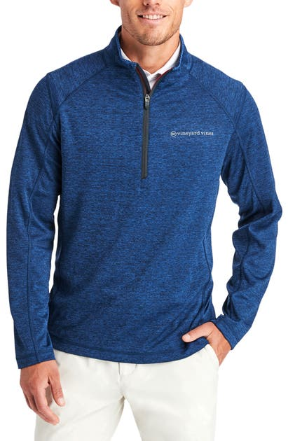 Vineyard Vines Tops SANKATY HALF ZIP PERFORMANCE PULLOVER