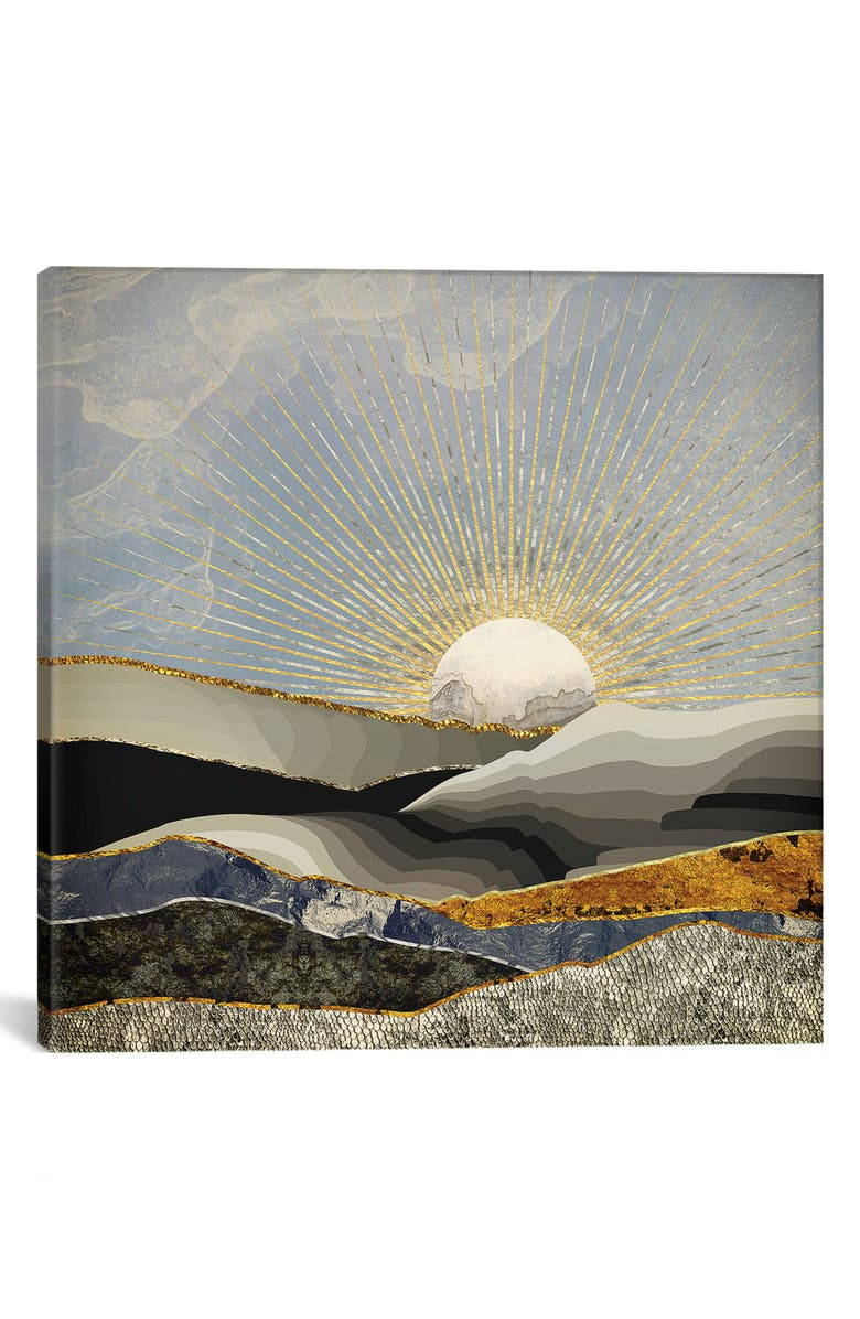 ICANVAS Morning Sun by SpaceFrog Designs Giclée Print Canvas Art, Main, color, IVORY