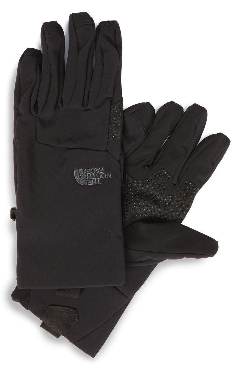 THE NORTH FACE eTip Apex ClimateBlock Gloves, Main, color, 001