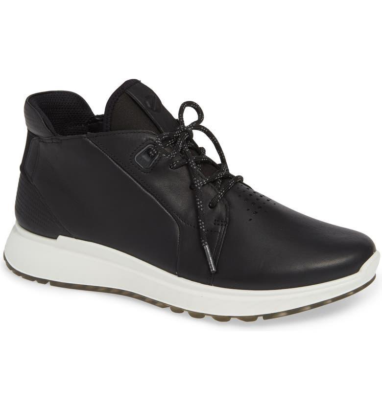ECCO ST1 High Top Zipper Sneaker, Main, color, 009