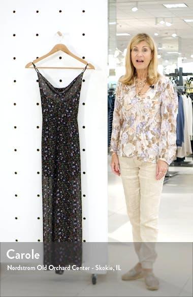 Floral Wide Leg Jumpsuit, sales video thumbnail