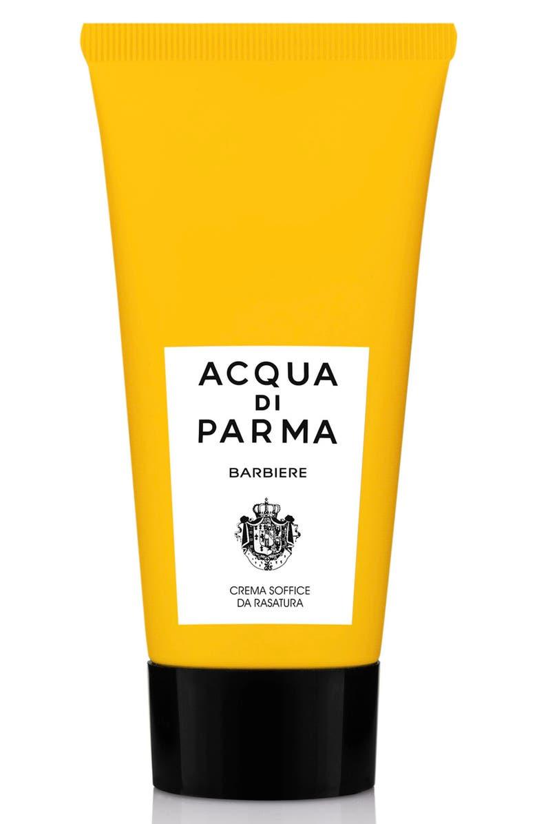 ACQUA DI PARMA Barbiere Soft Shaving Cream, Main, color, NO COLOR