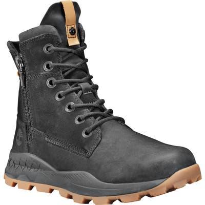 Timberland Brooklyn Waterproof Plain Toe Boot- Black