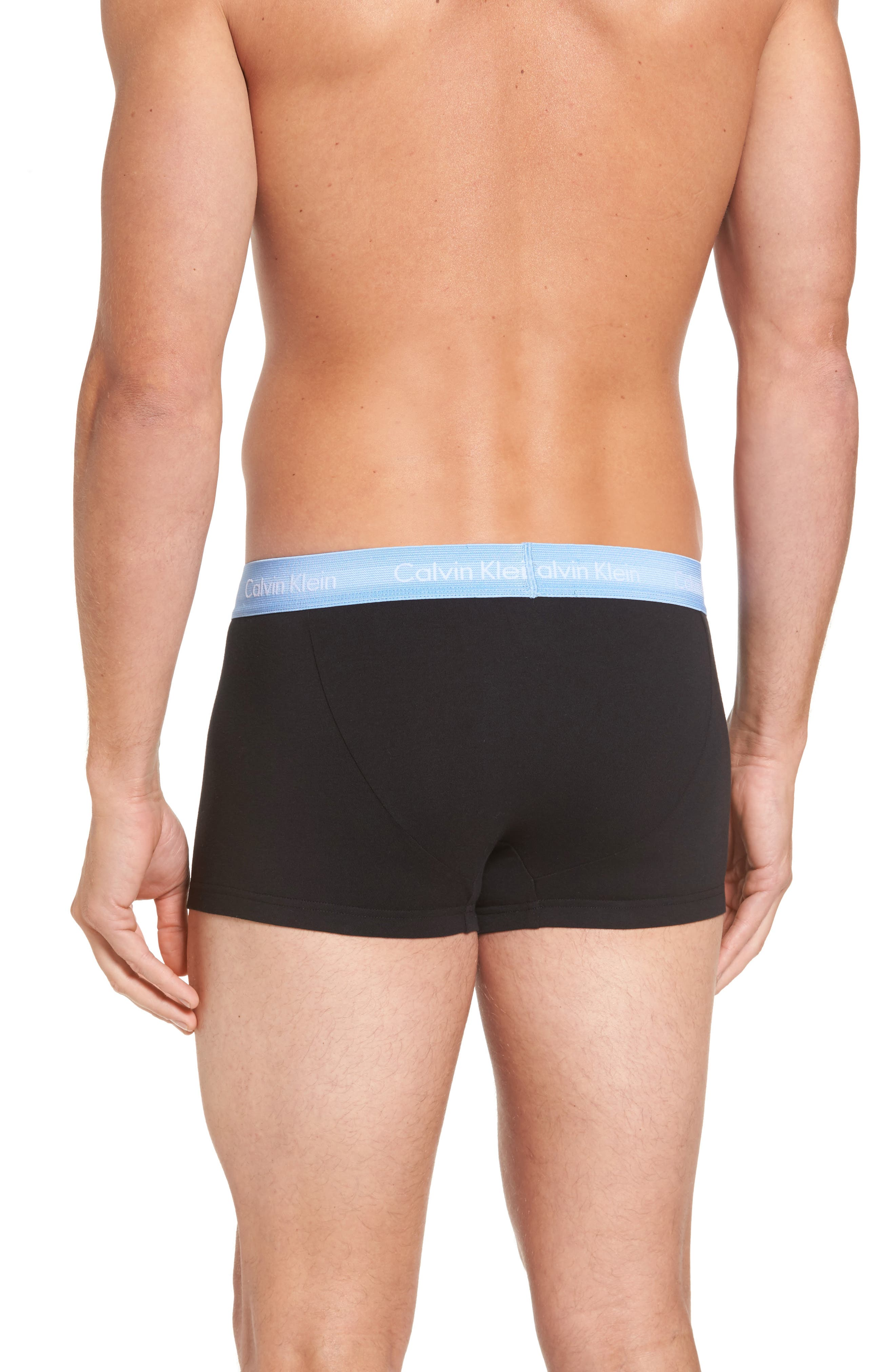 ,                             3-Pack Stretch Cotton Low Rise Trunks,                             Alternate thumbnail 86, color,                             400
