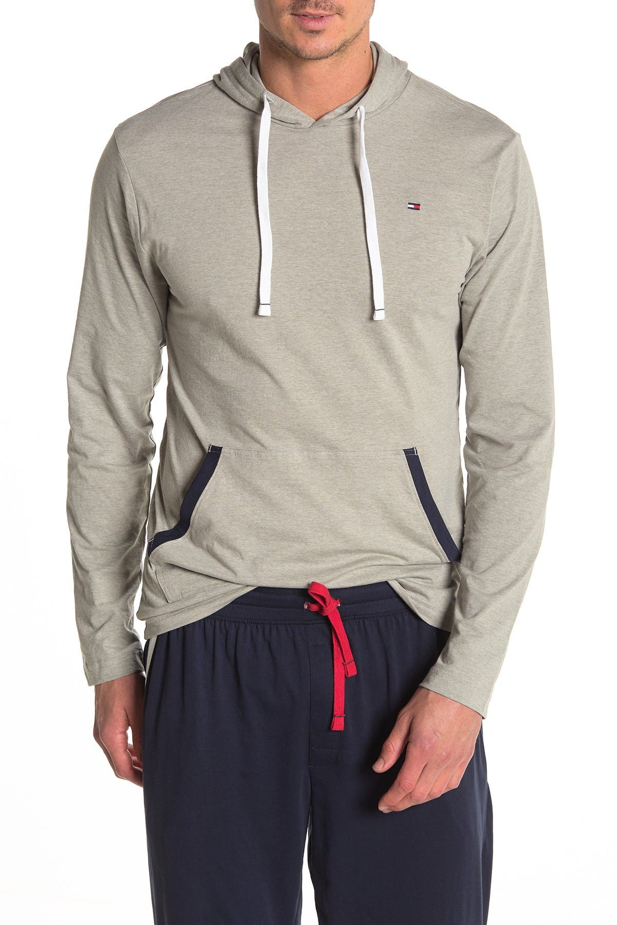 Image of Tommy Hilfiger Pullover Drawstring Lounge Hoodie