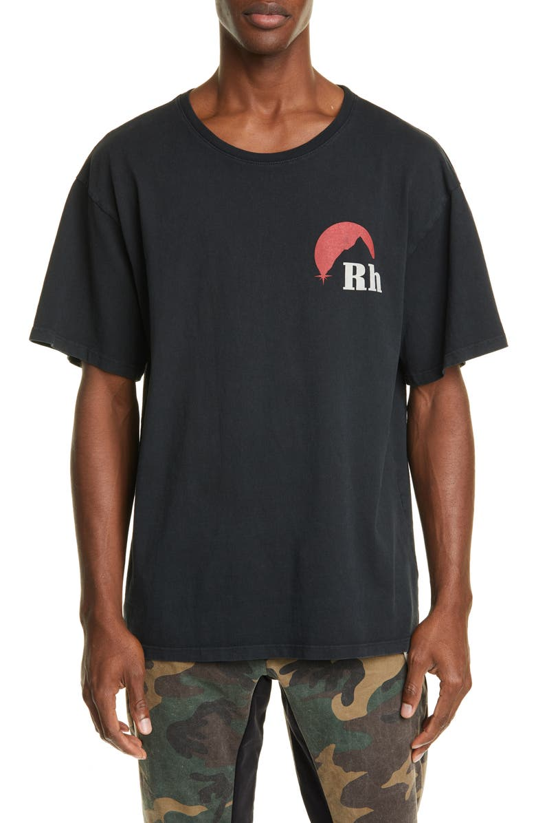 RHUDE Moonlight Logo T-Shirt, Main, color, 600