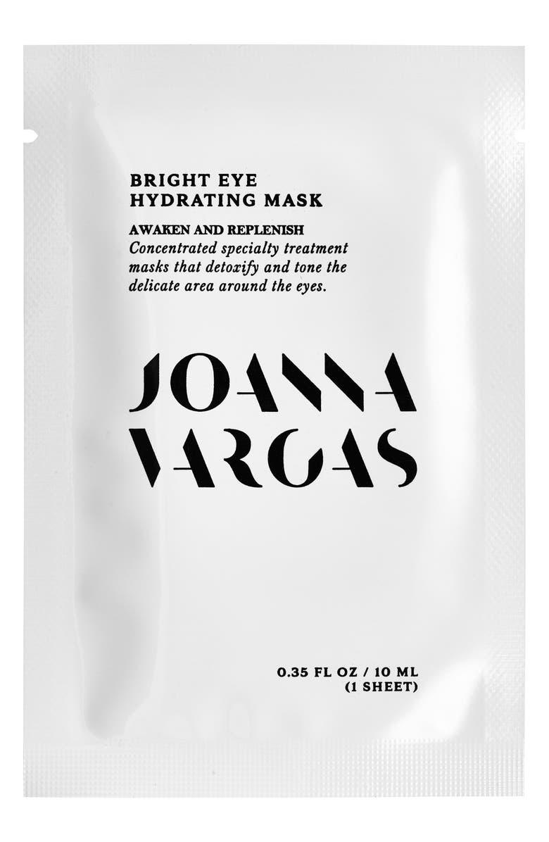JOANNA VARGAS Bright Eye Hydrating Mask, Main, color, NO COLOR