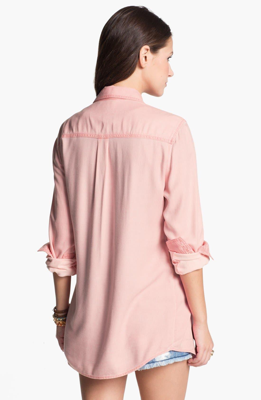 ,                             Rubbish Oversized Menswear Shirt,                             Alternate thumbnail 18, color,                             630