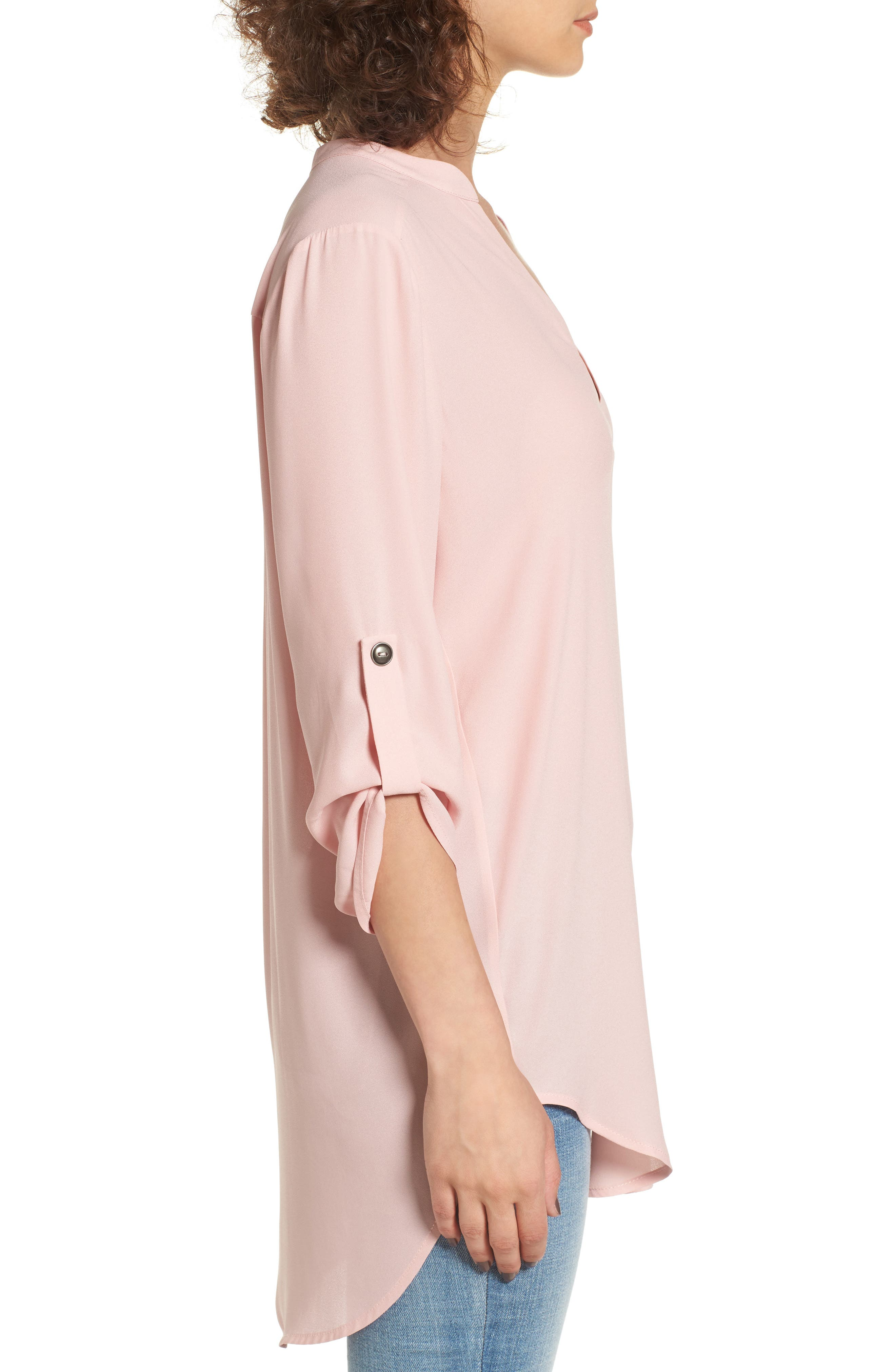 ,                             Perfect Roll Tab Sleeve Tunic,                             Alternate thumbnail 396, color,                             681