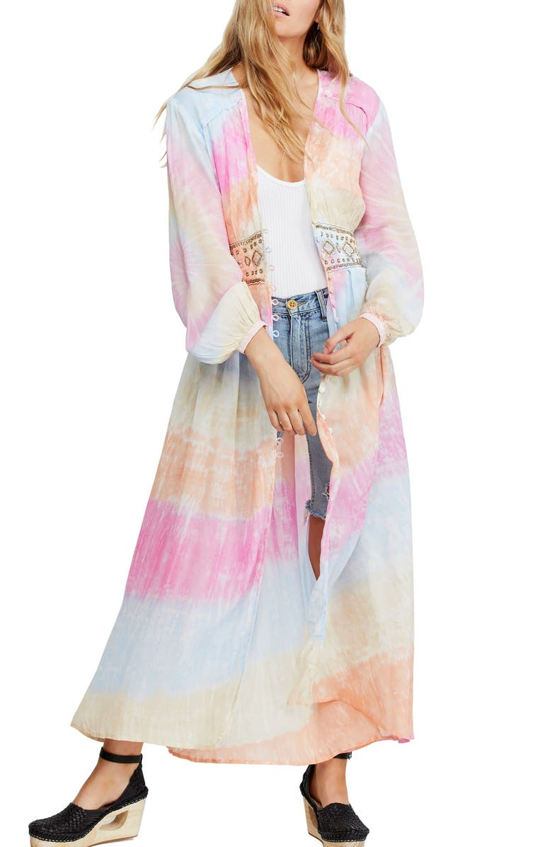 FREE PEOPLE Summer of Love Duster, Main, color, 657