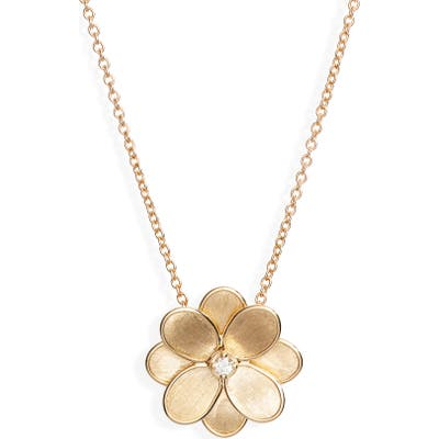 Marco Bicego Petali Diamond Pendant Necklace