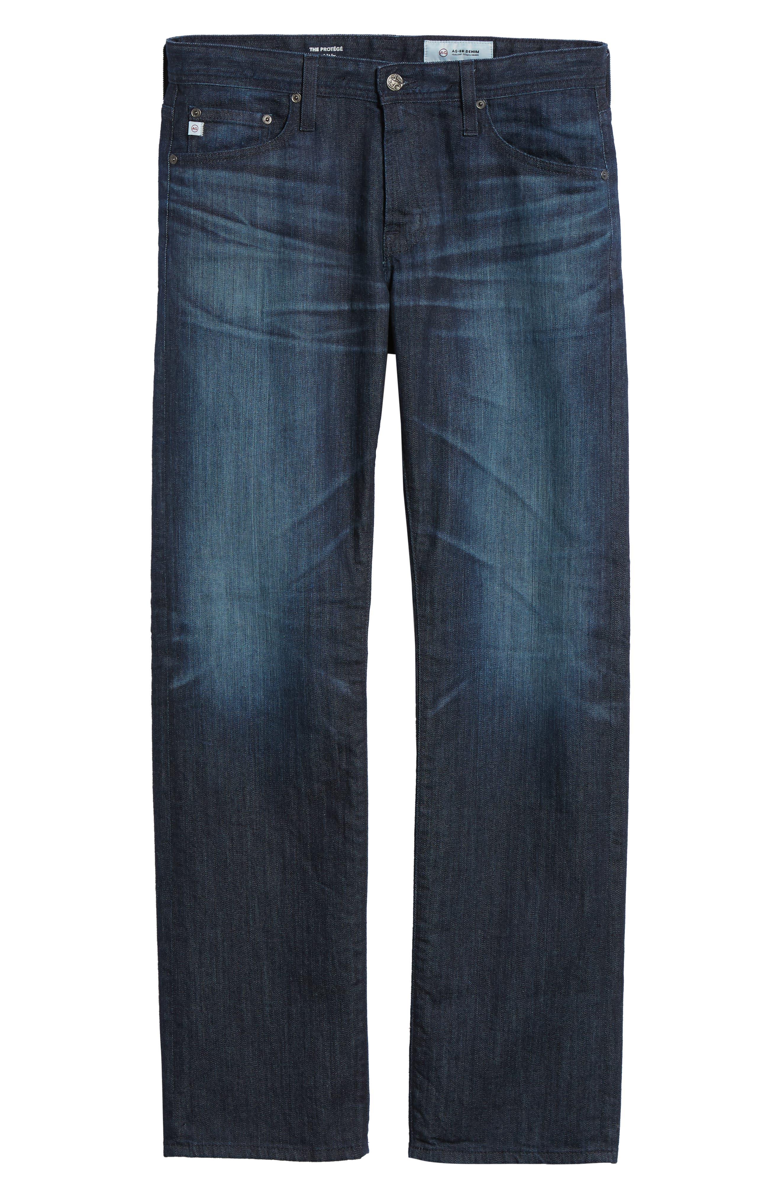 ,                             'Protégé' Straight Leg Jeans,                             Alternate thumbnail 13, color,                             478