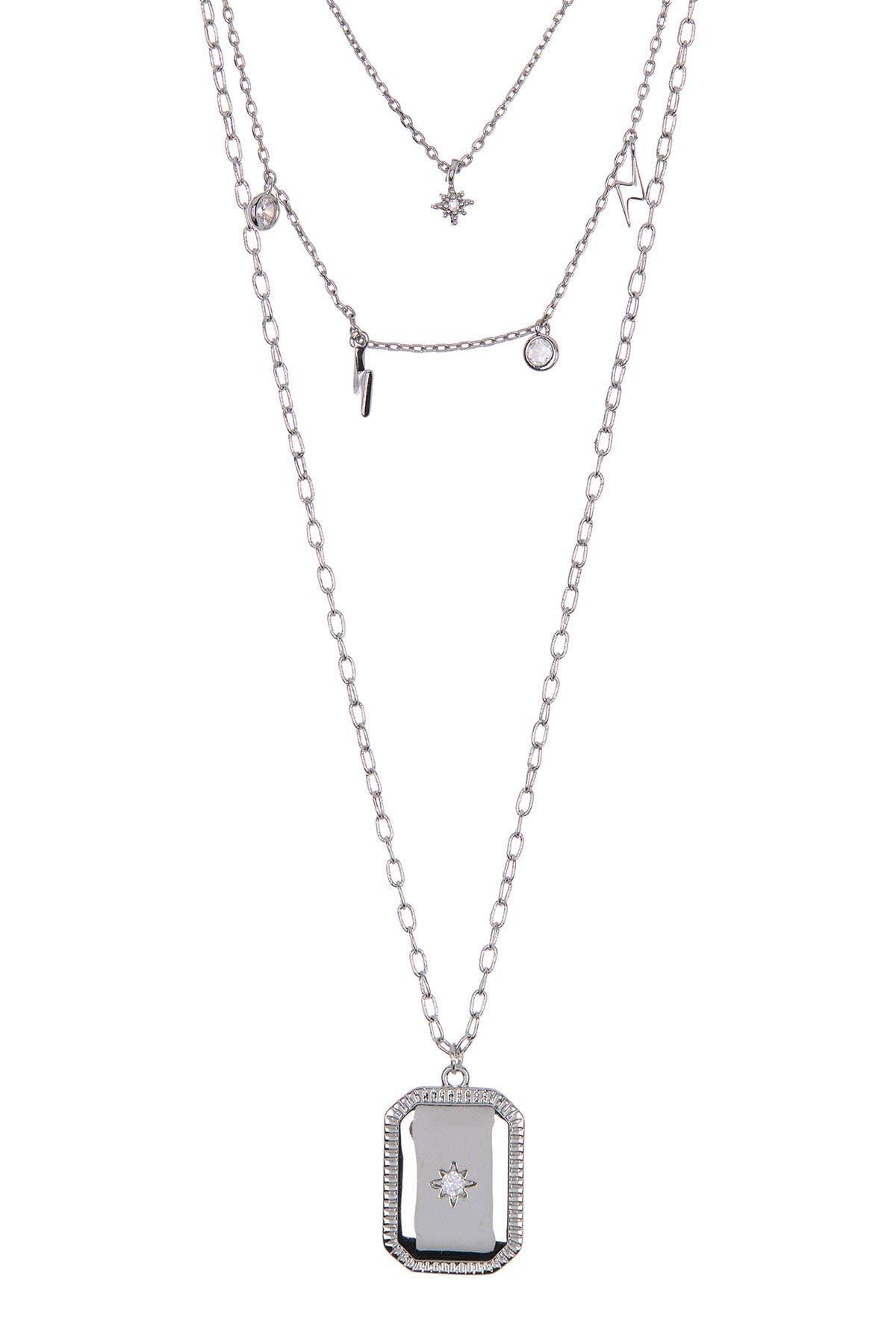 Image of Loren Olivia Stars & Lights Layered Necklace Set