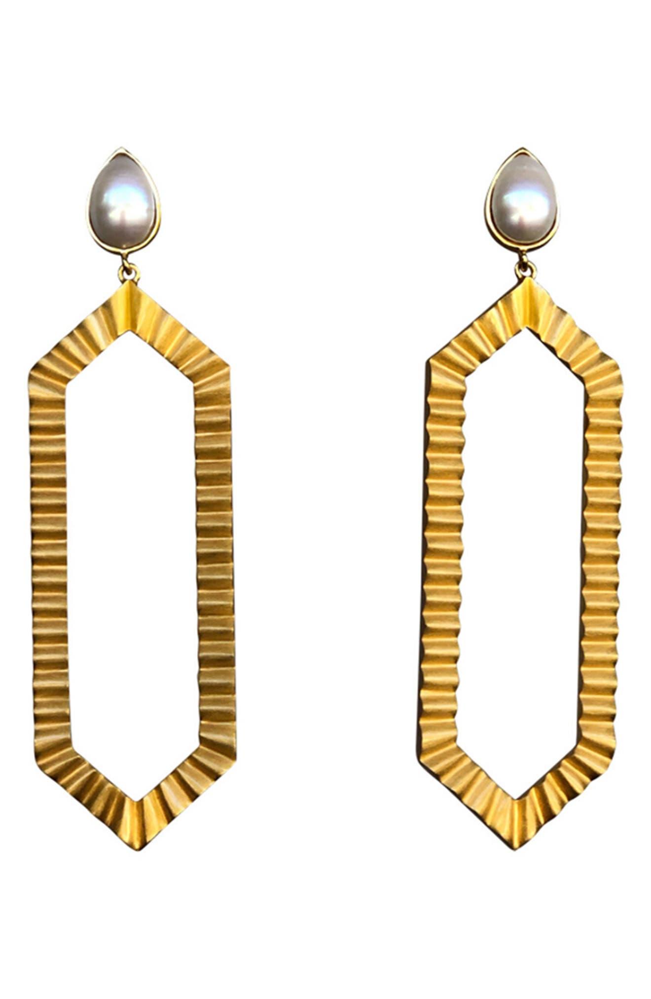 Strike Bold Drop Earrings