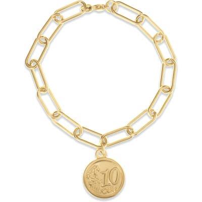 Ellie Vail Kassie Coin Pendant Bracelet