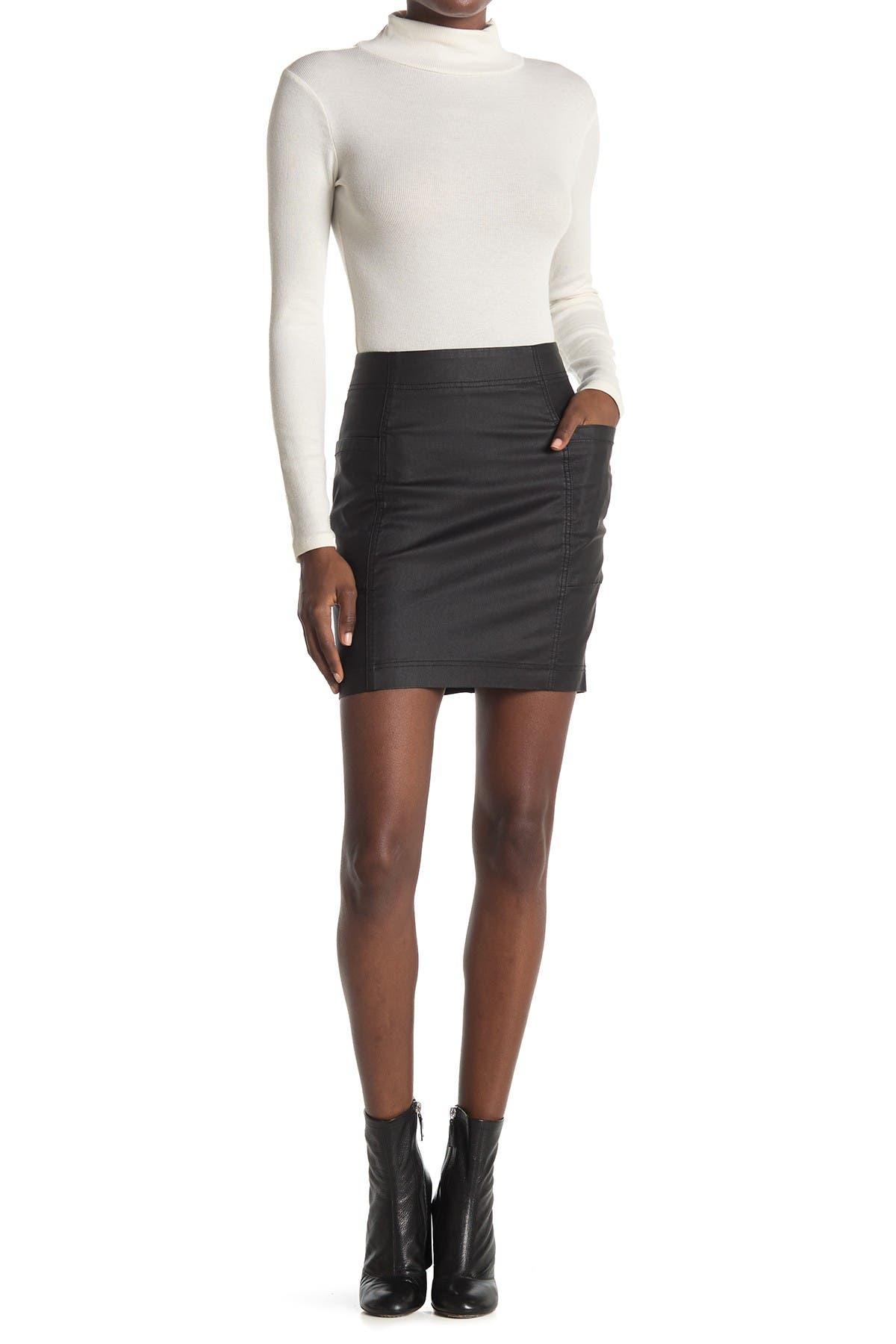 Image of Tinsel Denim Utility Skirt