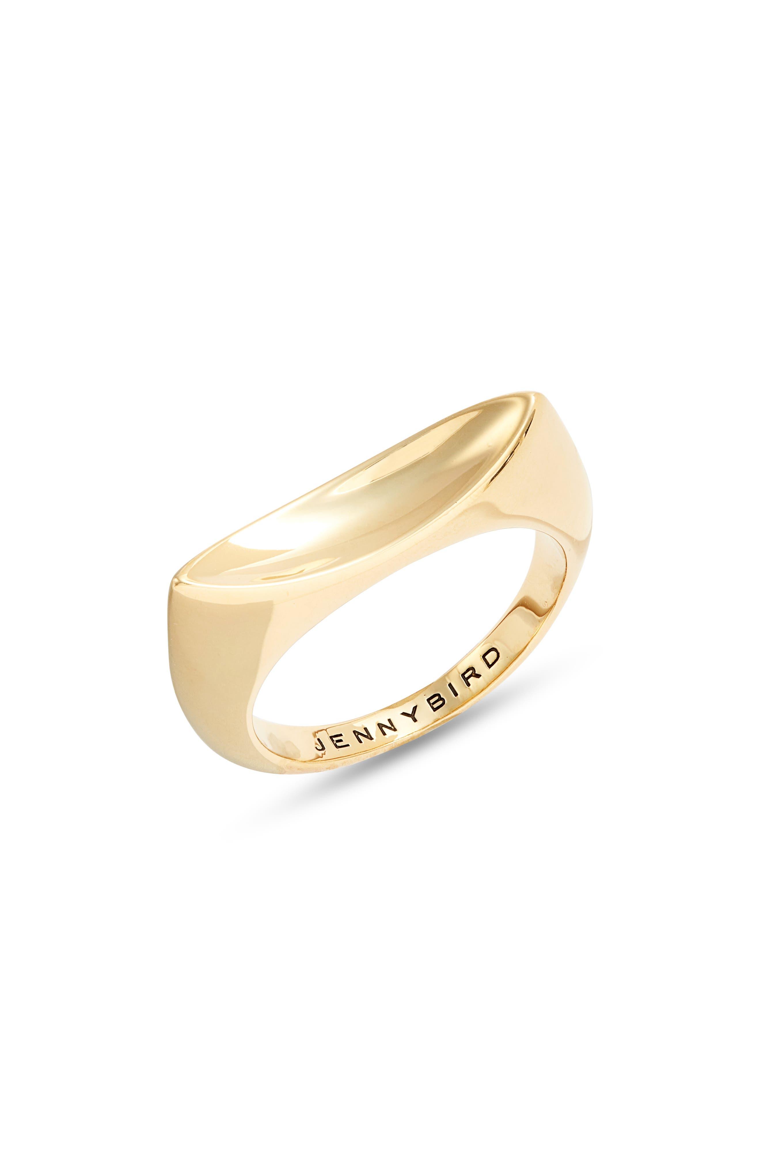 Clean Metals Statement Ring