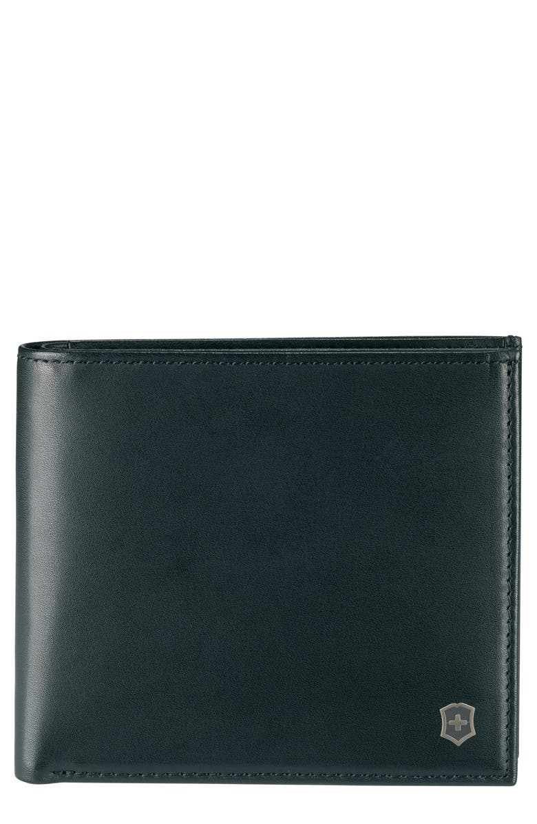 VICTORINOX SWISS ARMY<SUP>®</SUP> Altius Edge Pythagoras Wallet, Main, color, BLACK