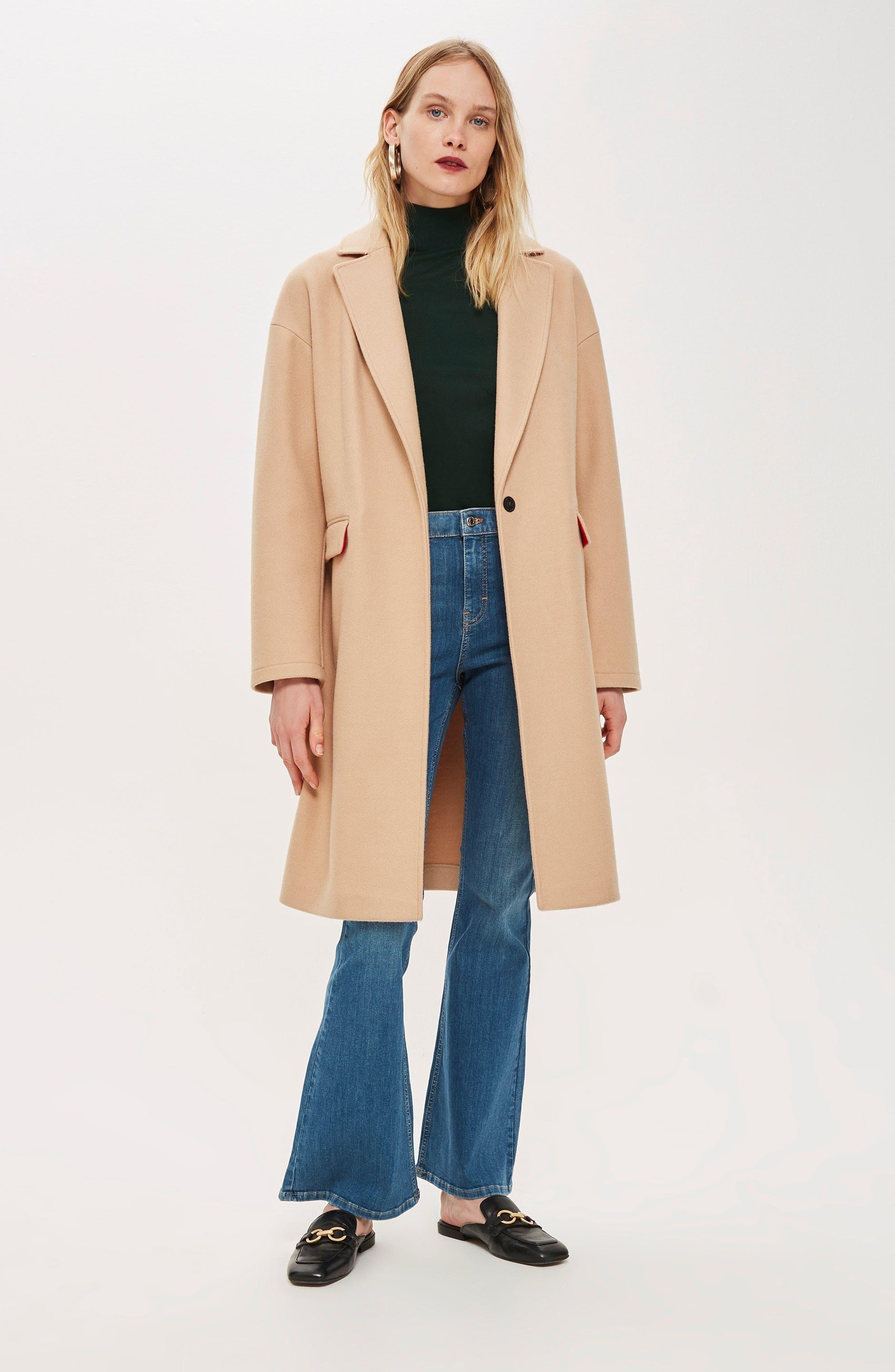 ,                             Lily Knit Back Midi Coat,                             Alternate thumbnail 28, color,                             252