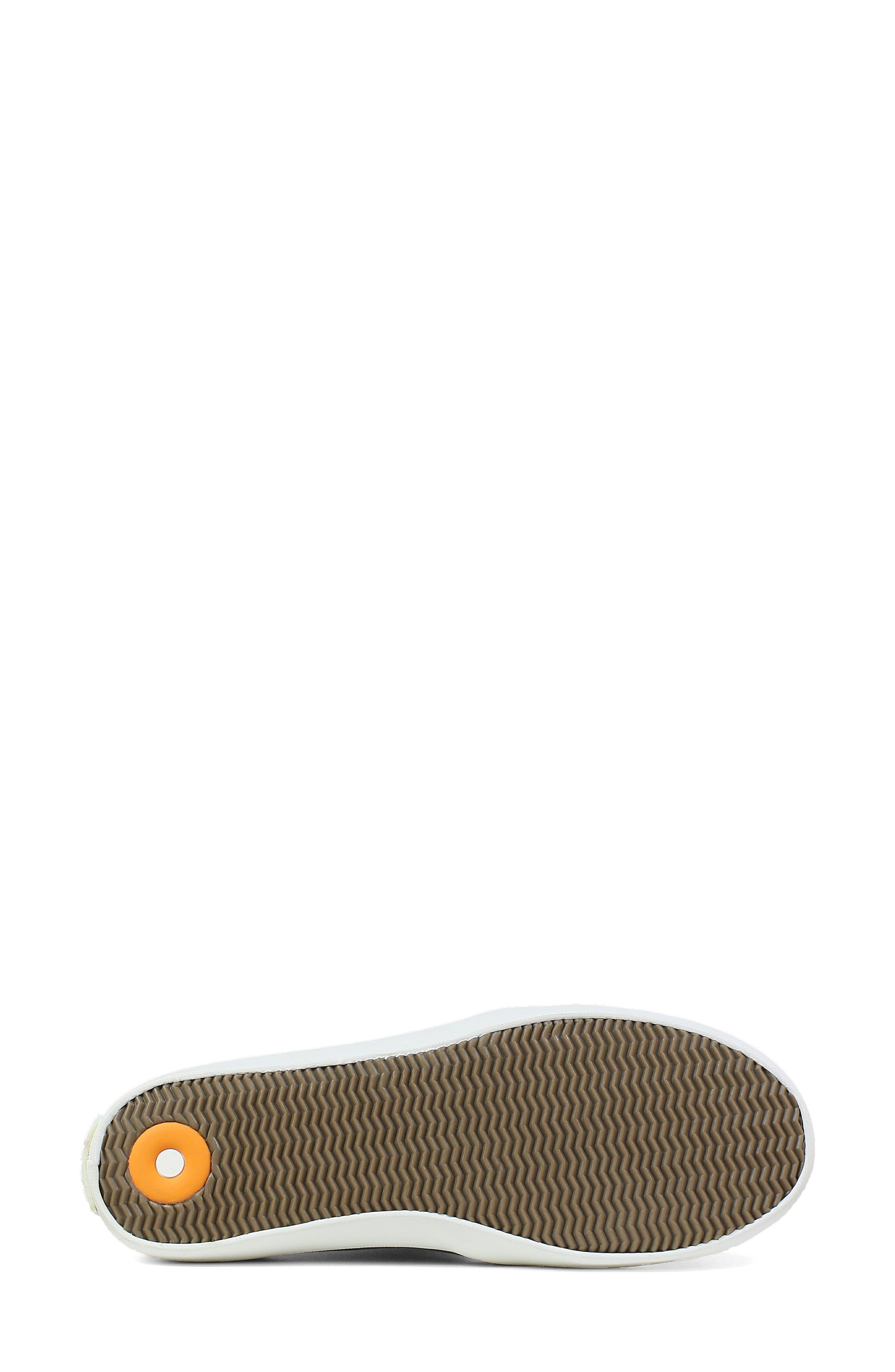 ,                             Kicker Slip-On Sneaker,                             Alternate thumbnail 6, color,                             BLACK CANVAS