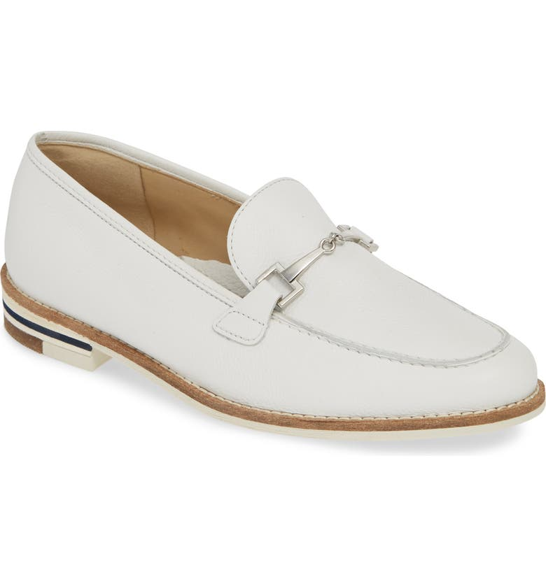 ARA Krista Loafer, Main, color, WHITE INDIO LEATHER