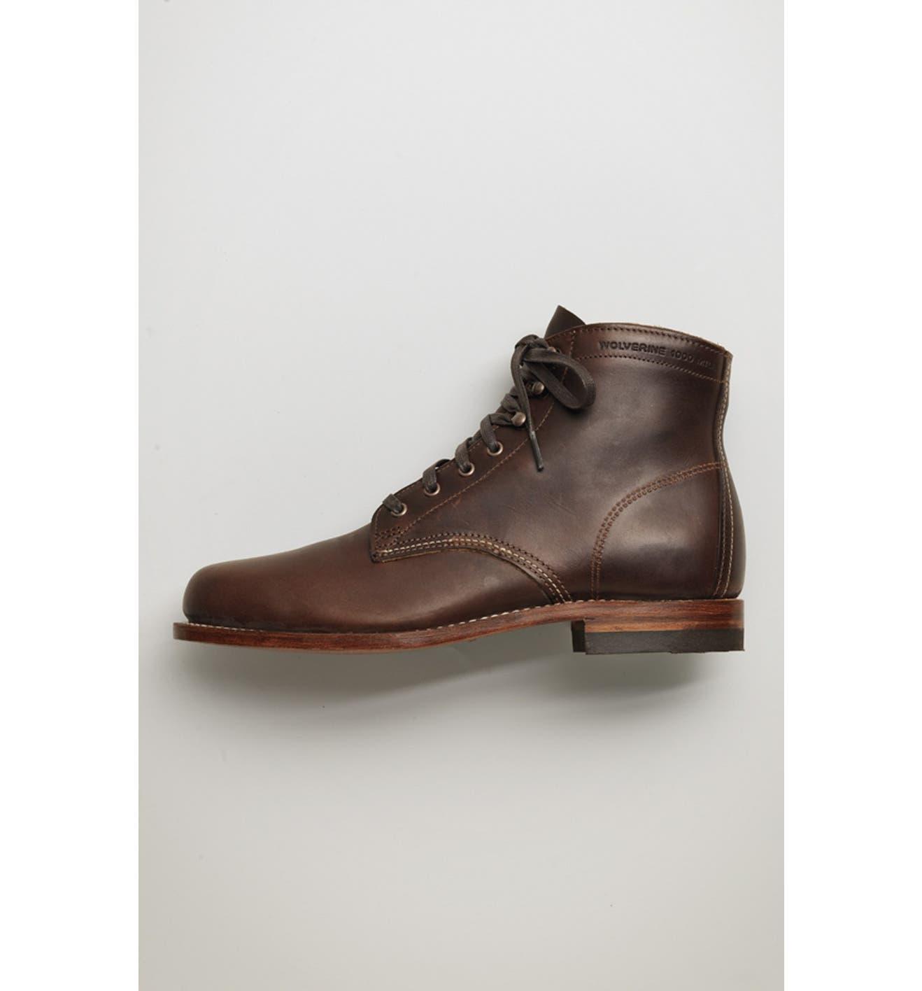 542e0738f44 '1000 Mile' Plain Toe Boot