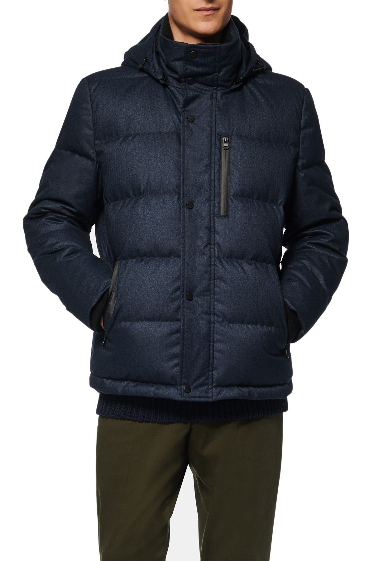 Image of Andrew Marc Drummond Puffer Jacket