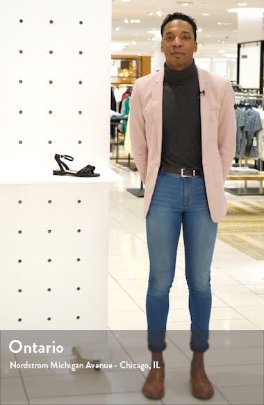 Vivian Ankle Strap Sandal, sales video thumbnail