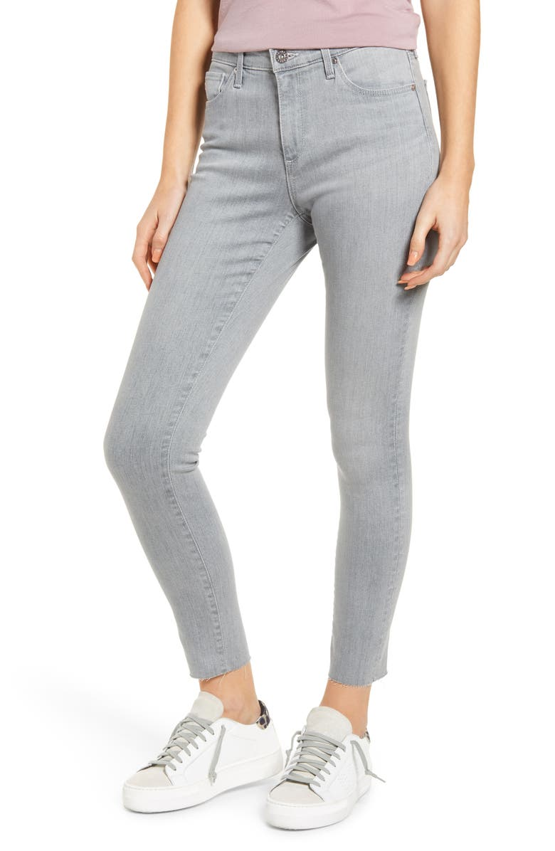 AG Aaran Raw Hem Ankle Skinny Jeans, Main, color, APPRENTICE