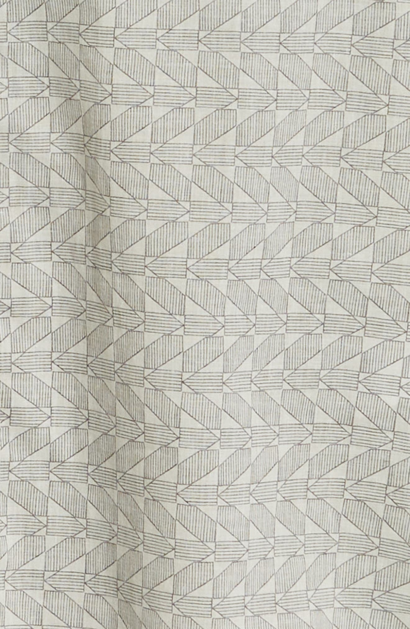 ,                             Tuscumbia Palisades Slim Fit Sport Shirt,                             Alternate thumbnail 6, color,                             NAVY/ WHITE