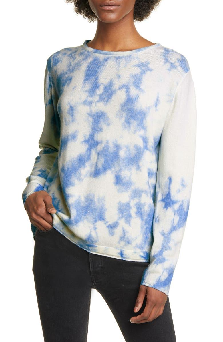ALLUDE Cashmere Sweater, Main, color, CURACAO