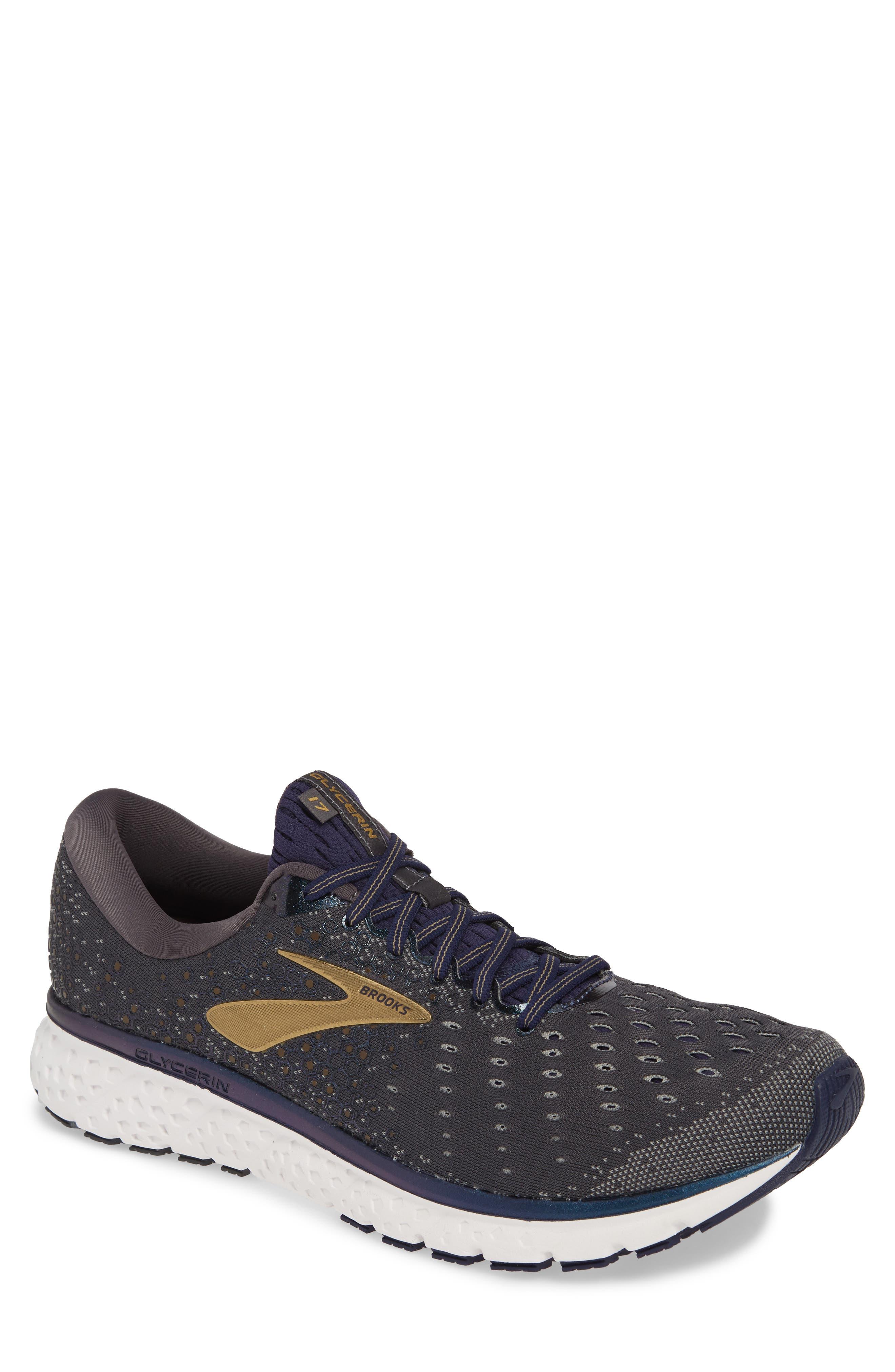 Brooks Glycerin 17 Running Shoe, Grey
