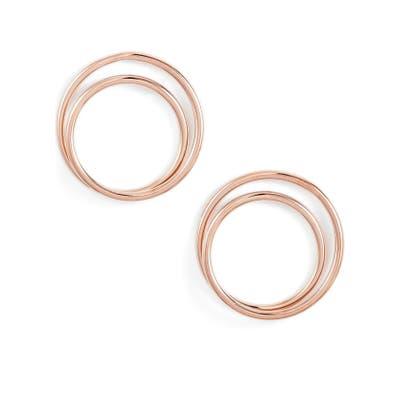Knotty Double Hoop Earrings