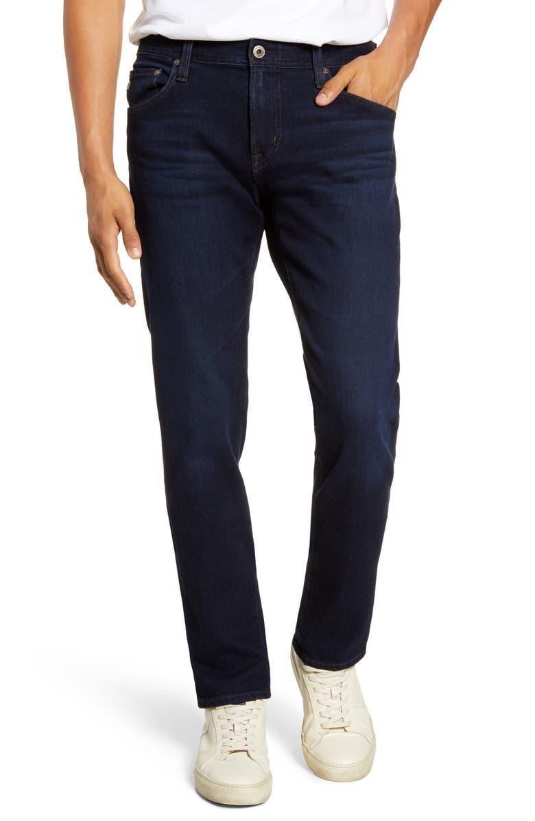 AG Tellis Slim Fit Jeans, Main, color, SCOUT