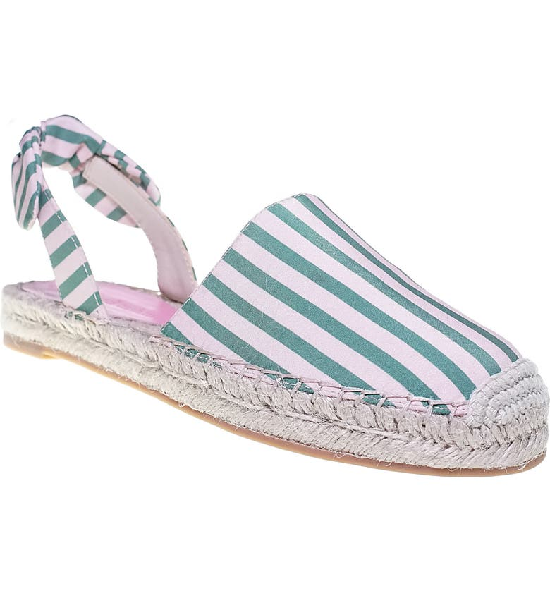 CUPCAKES AND CASHMERE Jamille Flat, Main, color, PINK-GREEN FABRIC