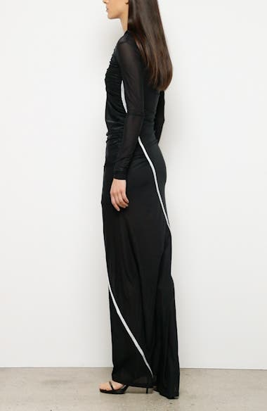 Fitted Convertible Long Sleeve Dress, video thumbnail