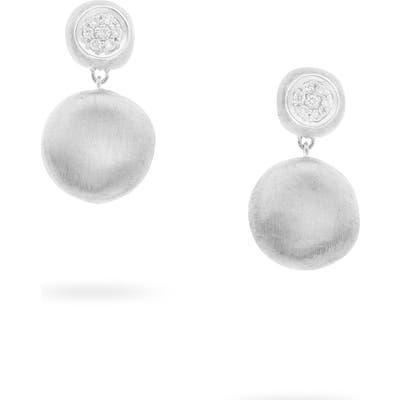 Marco Bicego Jaipur Pave Diamond Drop Earrings
