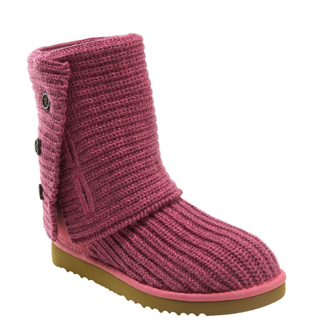 ,                             'Cardy' Classic Knit Boot,                             Main thumbnail 70, color,                             DUS
