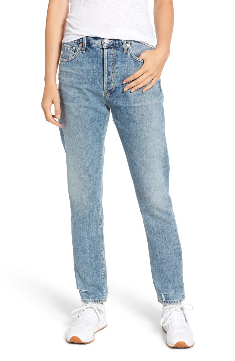 CITIZENS OF HUMANITY Corey Slouchy Slim Jeans, Main, color, ARCHIVE