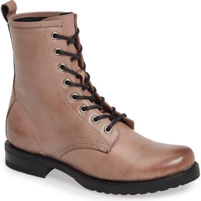 Frye Veronica Combat Boot- Pink