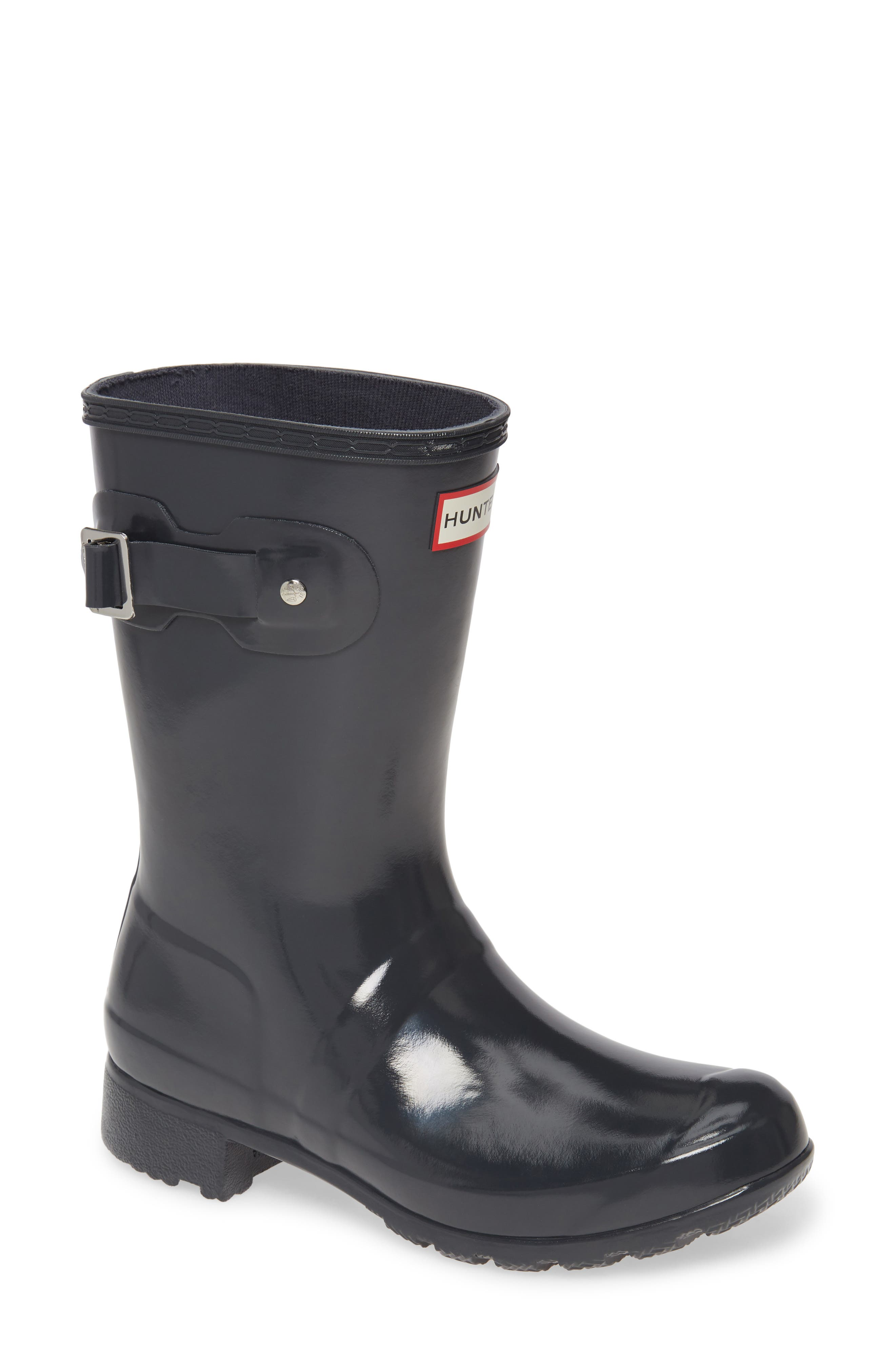 Hunter Original Tour Short Gloss Packable Rain Boot (Women)