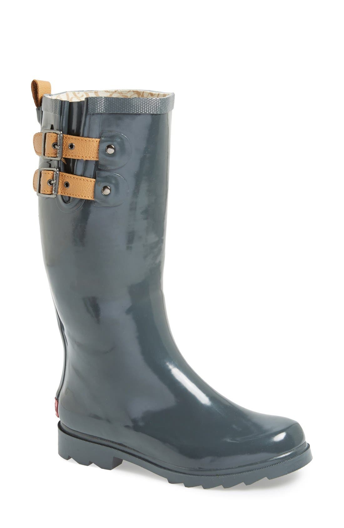 ,                             'Top Solid' Rain Boot,                             Main thumbnail 9, color,                             010