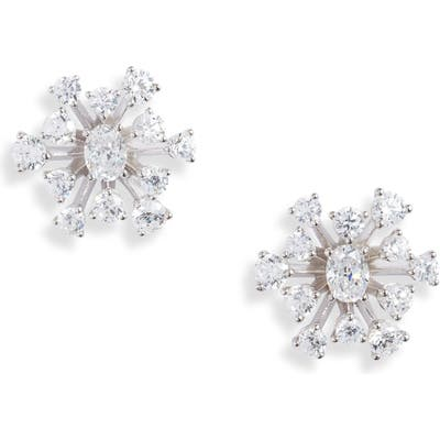 Nadri Evie Cluster Stud Earrings
