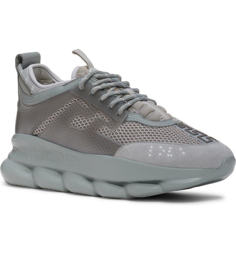 DR. MARTENS Versace Chain Reaction Sneaker, Main, color, GREY