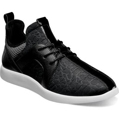 Stacy Adams Briscoe Sneaker, Black