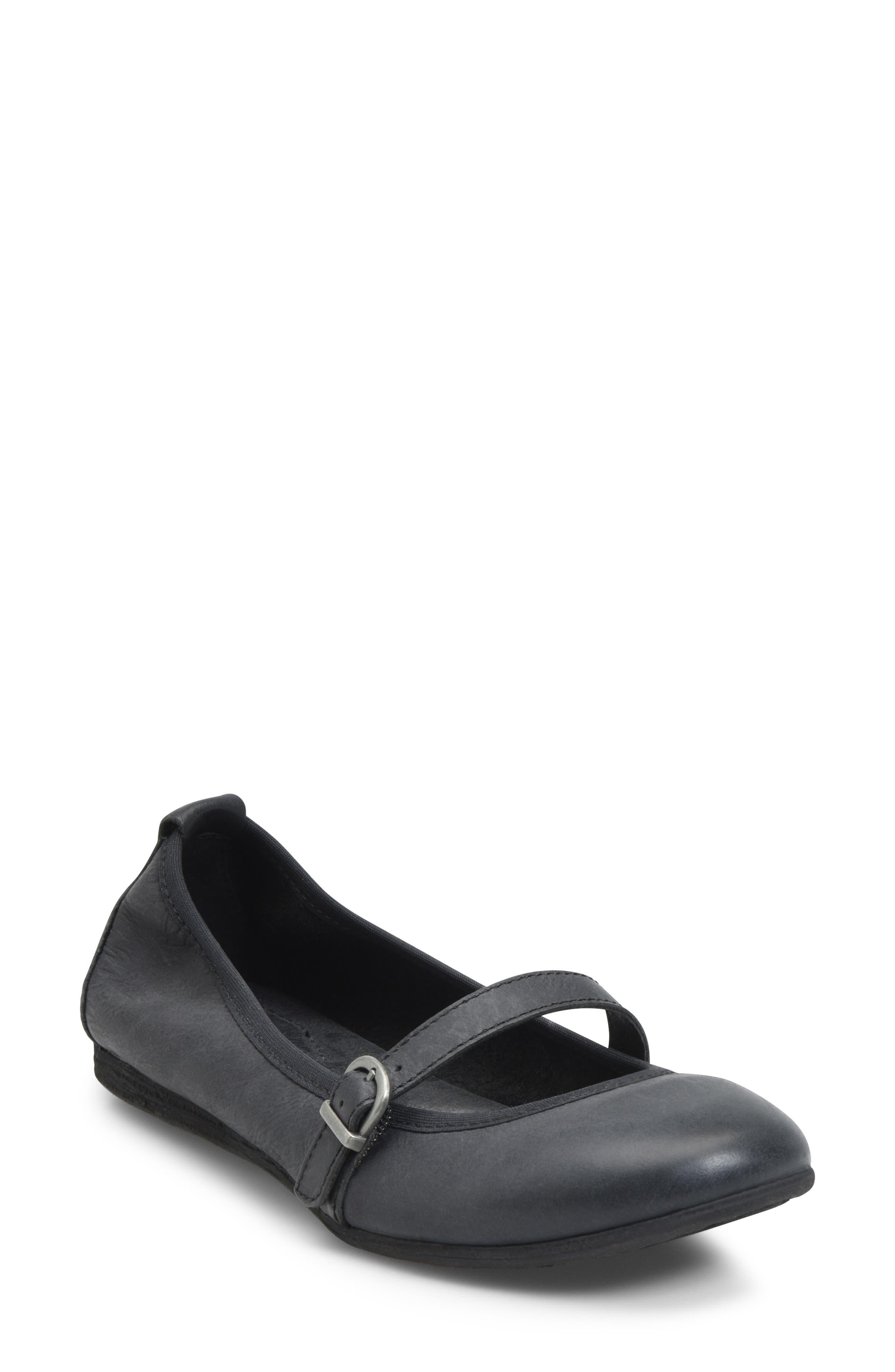 B?rn Curlew Mary Jane Ballet Flat, Black