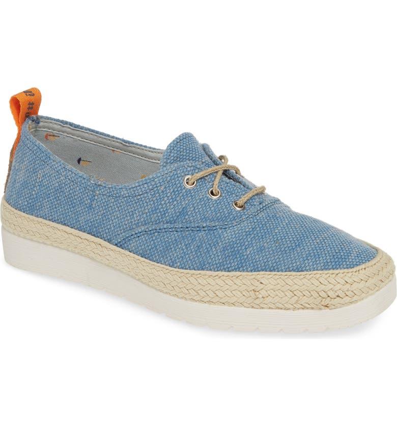 TONI PONS Bego Espadrille Sneaker, Main, color, BLUE CANVAS