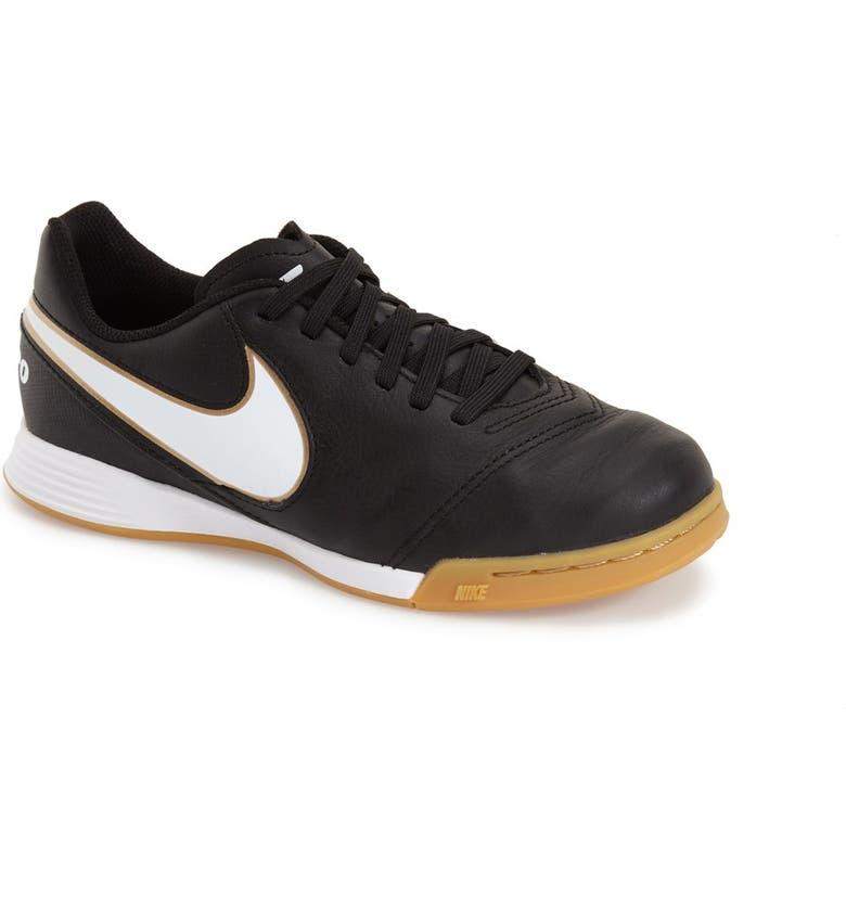 super popular 24ad6 663ef Nike 'Tiempo Legend VI' Indoor Soccer Shoe (Toddler, Little ...